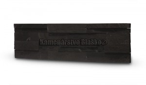 Remienok Black Slate F Flat Wet